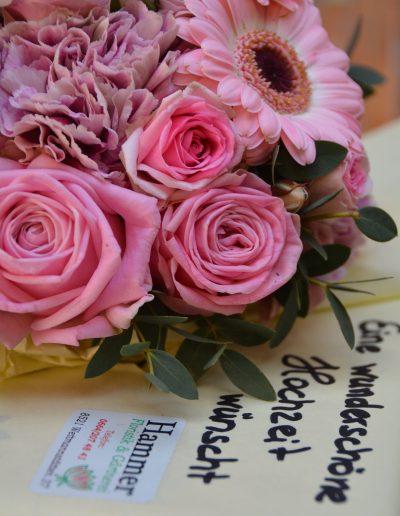 Brautstrauß Rosa Hochzeitsblumen